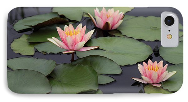 IPhone 7 Case featuring the photograph Water Lilies by Jessica Jenney