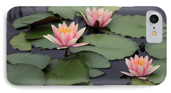 IPhone Case featuring the photograph Water Lilies by Jessica Jenney