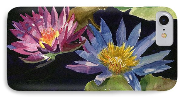 Water Lilies Phone Case by Lynne Reichhart