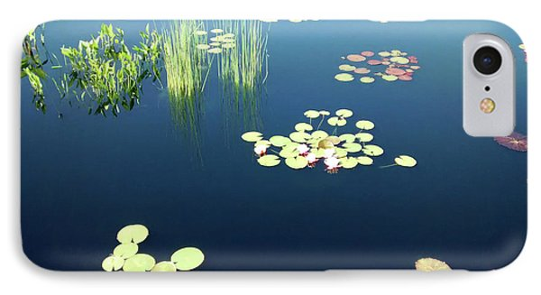 IPhone Case featuring the photograph Water Lilies by Marilyn Hunt