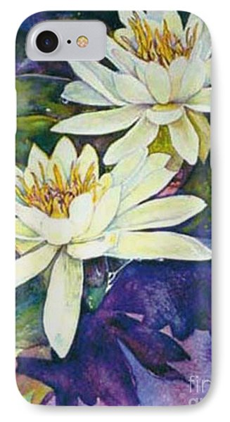 Water Lilies Phone Case by Norma Boeckler