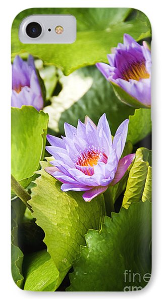 Water Lilies Phone Case by Ray Laskowitz - Printscapes