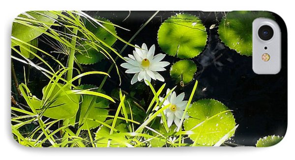 Water Lillies Phone Case by John Parry