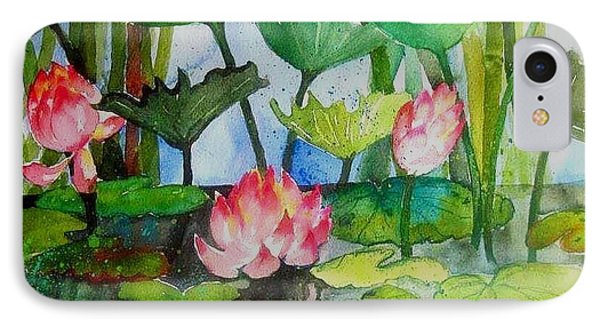 Water Lillies Two IPhone Case