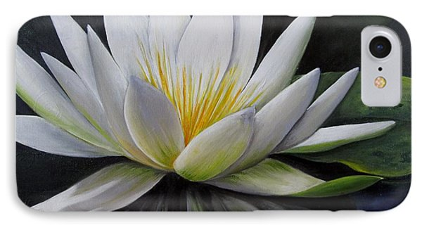 Water Lilly  IPhone Case by Katia Aho