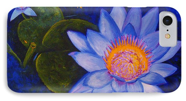 Water Lily IPhone Case by Anne Marie Brown