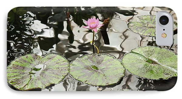 Water Lily Canvas Phone Case by Carol Groenen