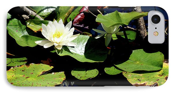 IPhone Case featuring the photograph Water Lily by Meta Gatschenberger
