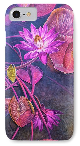 Water Lily Pond IPhone Case by Fiona Craig