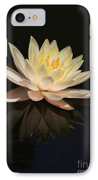 Water Lily Reflected Phone Case by Sabrina L Ryan
