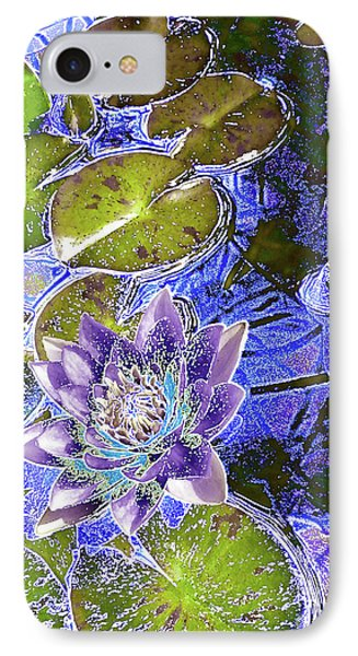 Water Lily Phone Case by Robert Ball