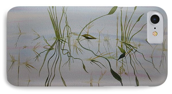 IPhone Case featuring the painting Water Music by Joel Deutsch
