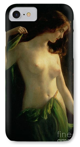 Water Nymph IPhone Case by Otto Theodor Gustav Lingner