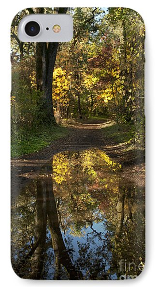 Water On The Trail IPhone Case