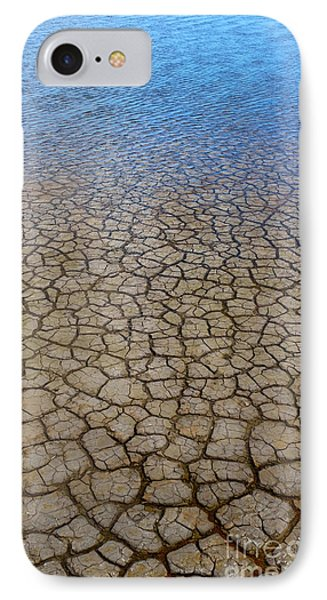 Water Over Drought IPhone Case by Carlos Caetano