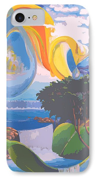 Water Planet Series - Vetor Version Phone Case by Leomariano artist BRASIL