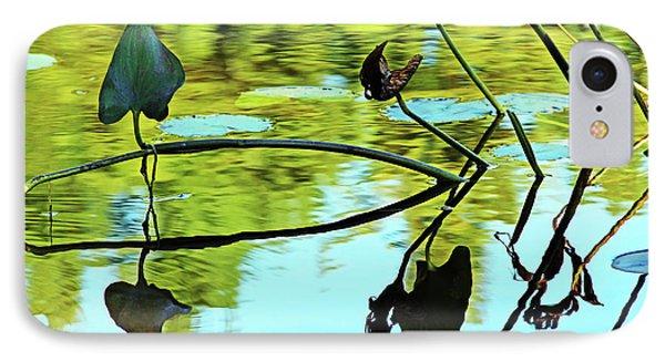 Water Plants IPhone Case by Debbie Oppermann