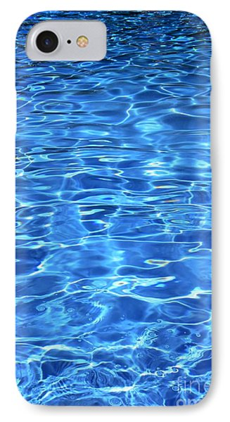 IPhone Case featuring the photograph Water Shadows by Ramona Matei