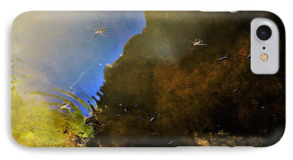 Water Spiders IPhone Case