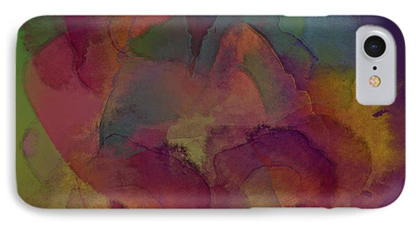 Water Stains IPhone Case by Diane Parnell