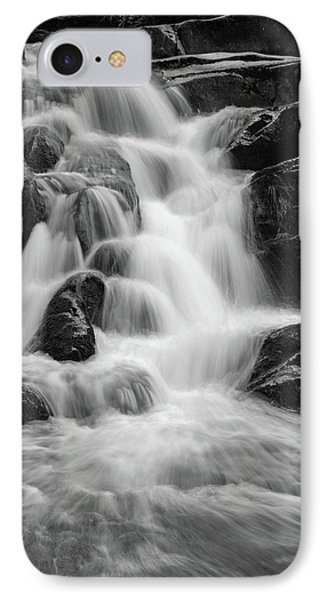 water stair close to the Heinrich Heine hiking way, Harz IPhone Case by Andreas Levi