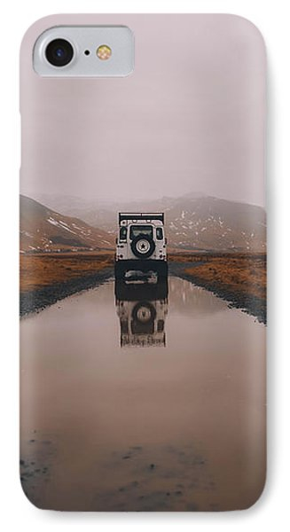 Water Tracks IPhone Case by Fbmovercrafts