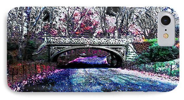 Water Under The Bridge IPhone Case by Iowan Stone-Flowers