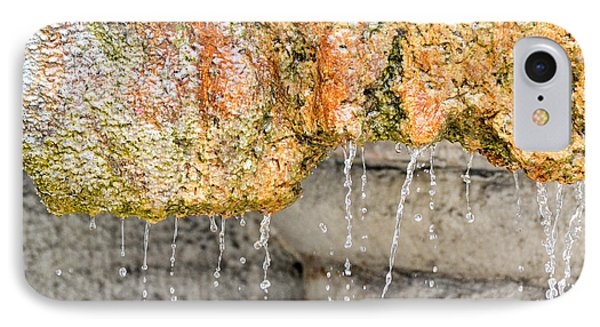 Water-worn Fountain IPhone Case by Bill Mock