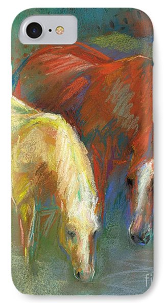 IPhone Case featuring the painting Waterbreak by Frances Marino