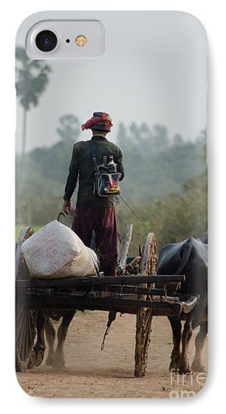 IPhone Case featuring the photograph Waterbuffalo Driver With Angry Birds Tote Bag by Jason Rosette