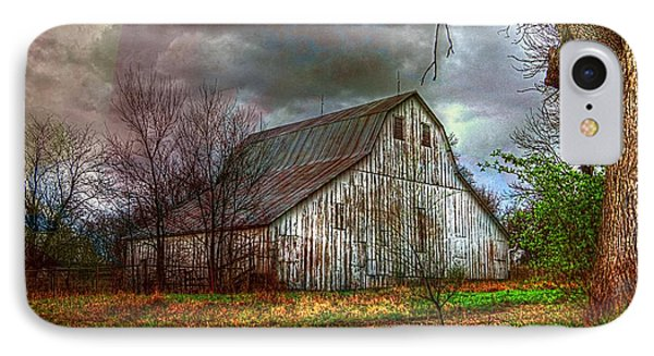 Watercolor Barn 2 IPhone Case