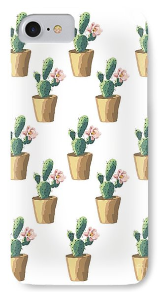 Watercolor Cactus IPhone 7 Case by Roam  Images