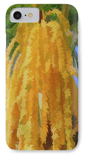 IPhone Case featuring the photograph Watercolor Cascading Seed Pod by Aimee L Maher Photography and Art Visit ALMGallerydotcom