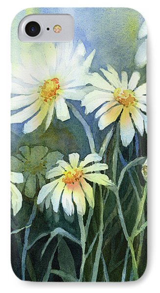 Daisy iPhone 7 Case - Daisies Flowers  by Olga Shvartsur