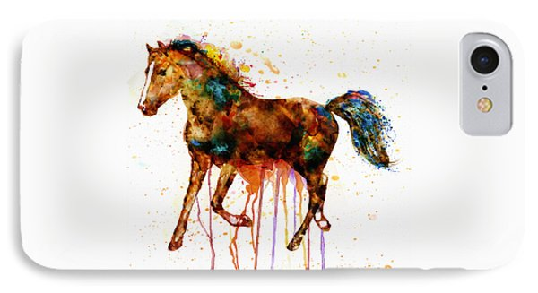 Watercolor Horse IPhone Case