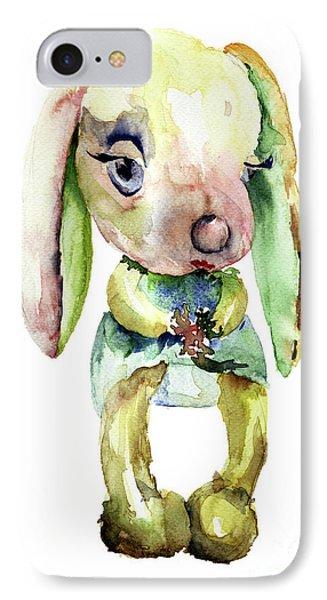 Watercolor Illustration Of Rabbit IPhone Case