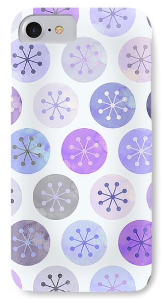 Watercolor Lovely Pattern II IPhone Case by Amir Faysal