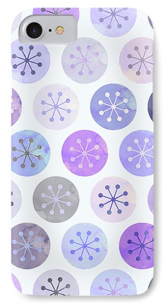Watercolor Lovely Pattern II IPhone 7 Case by Amir Faysal