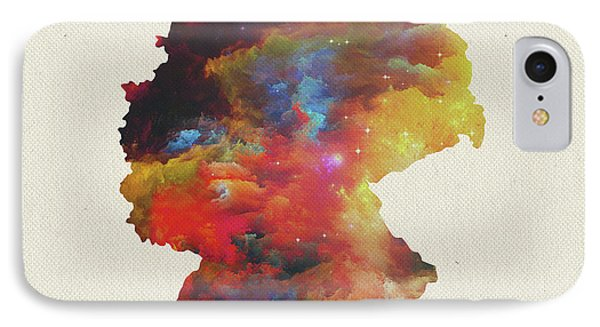 Watercolor Map Of Germany IPhone Case