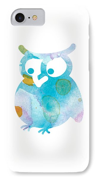 Watercolor Owl IPhone Case