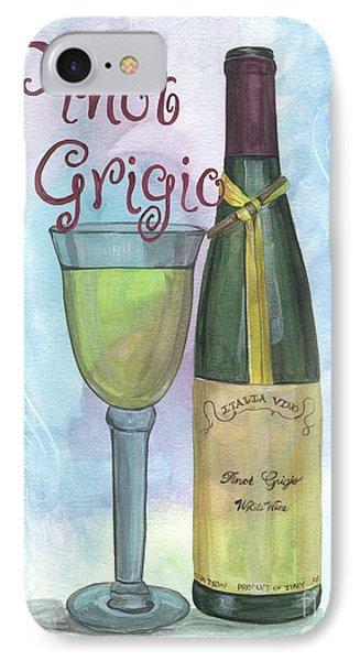 Watercolor Pinot Grigio IPhone Case by Debbie DeWitt