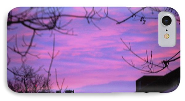 Watercolor Sky IPhone Case by Sumoflam Photography