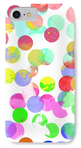 Watercolour Abstract IPhone Case by Keshava Shukla