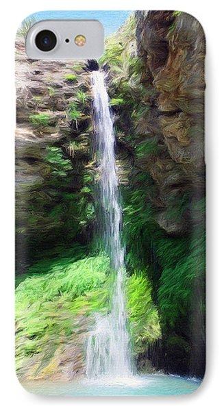 Waterfall 2 IPhone Case by Jeff Kolker