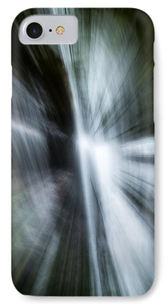 Waterfall Abstract IPhone Case by Chris McKenna
