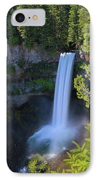 Waterfall At Brandywine Falls Provincial Park Phone Case by David Gn