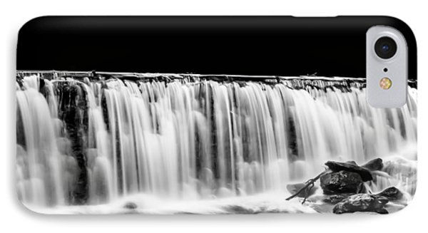 Waterfall At Night IPhone Case