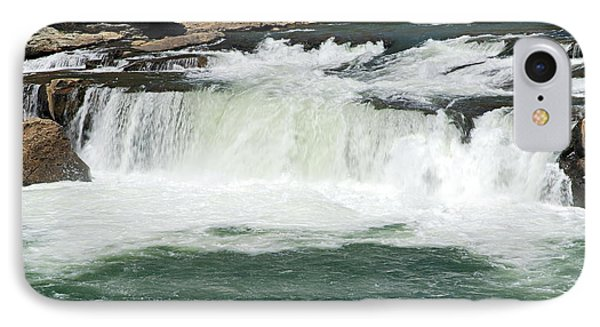 Waterfall At Ohiopyle State Park Phone Case by Larry Ricker