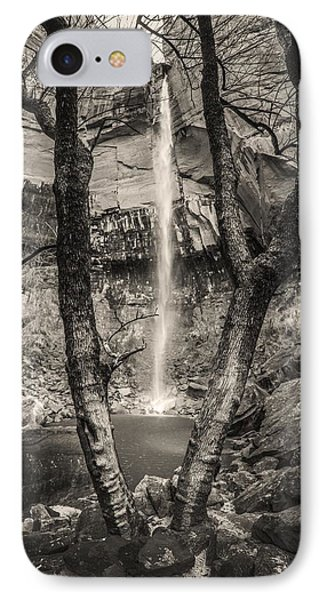 Waterfall At Upper Emerald Pool IPhone Case