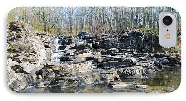 IPhone Case featuring the photograph Waterfall At Wickecheoke Creek by Bill Cannon